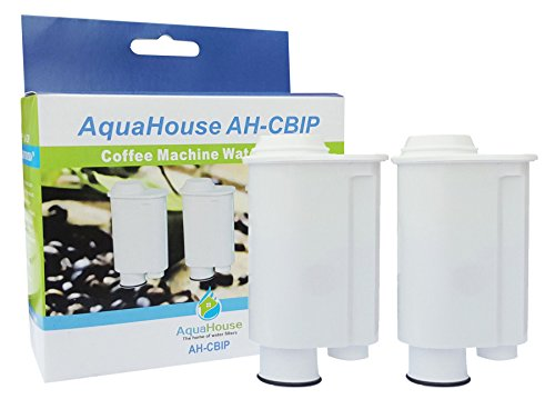 2x AquaHouse AH-CBIP Compatible para Brita Intenza + / Philips Saeco CA6702 / 00 Cartucho de filtro de agua para Philips, Saeco, Lavazza, Gaggia Cafeteras