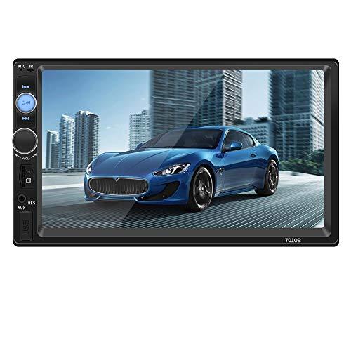 remote.S Auto Voiture Double Din Lecteur DVD De Voiture 7 Pouces Écran Tactile Multimédia Radio Bluetooth Bluetooth MP5 Lecteur avec Télécommande