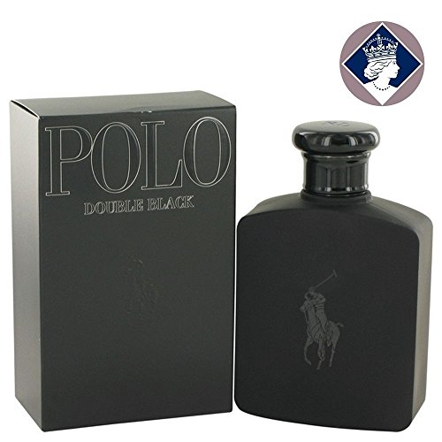 Ralph Lauren Polo Double Black Eau de Toilette Spray - 125ml-4.2oz With Ayur Lotion FREE