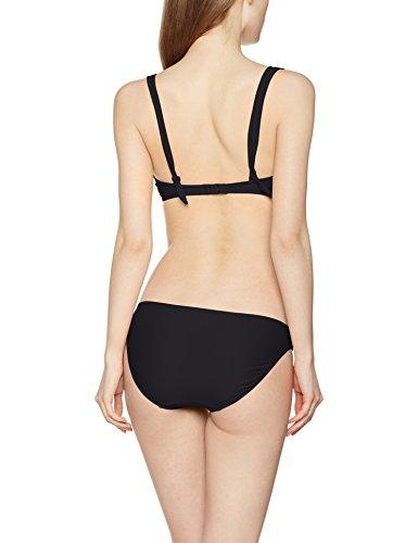 LingaDore Damen Bikini-Set Ibiza Halterneck Bikiniset Schwarz (Black 02)