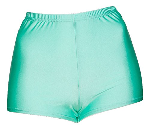 Ladies-All-Colours-Shiny-Lycra-Dance-Fitness-Sports-Gym-Hot-Pants-Shorts-KHPN-5-Katz-Dancewear