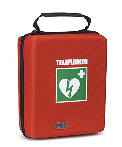 Telefunken Defibrillator FA1 mit vollautomatischer Schockauslösung, Vollausstattung und HLW - Unterstützung