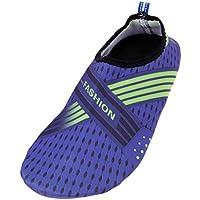 perfk Profesionales Zapatillas de Natación para Adultos Calcetines Antideslizantes de Goma para Buceo Bota de Snorkel - 35-36