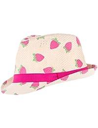 maximo Strohhut Erdbeere, Chapeaux / Bonnets Fille