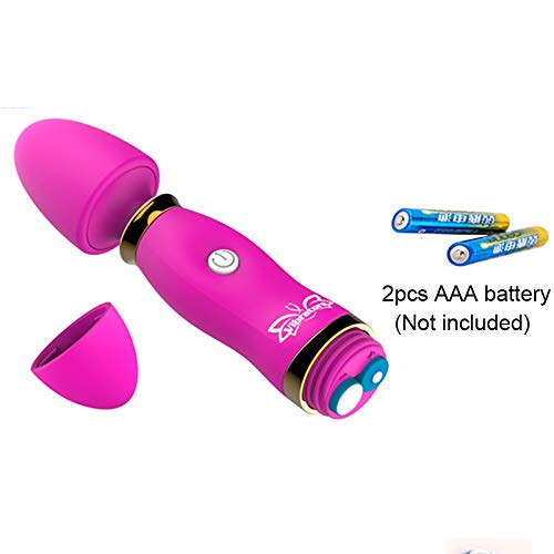 Preisvergleich Produktbild 12 Geschwindigkeiten Vibratoren Für Frauen Klitoris Stimulator Weibliche Masturbator Zauberstab Massagegerät Dildo Vibrator Spielzeug,  China,  rot