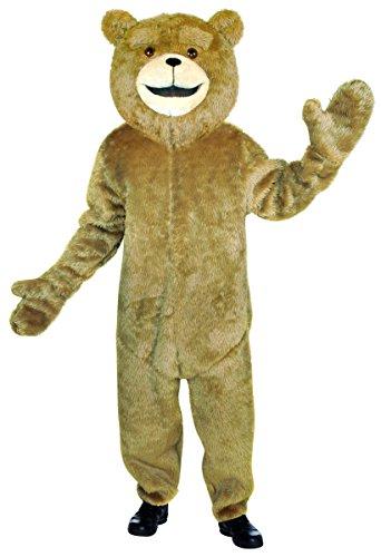 Ted Deluxe Teddy Bär Kostüm für (Kostüm Bär Anzug Teddy)