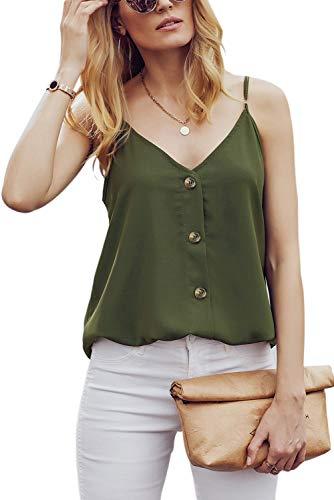 Nur Grünen T-shirt (Ancapelion Damen Sommer Bluse à