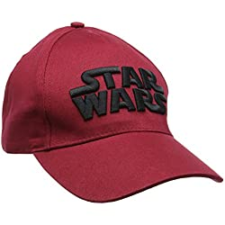 Marvel Star Wars, Gorra de béisbol para Hombre, Rojo (D Red 19-1840TC), Medium (Tamaño Fabricante:56)