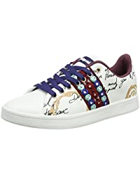 Desigual Shoes_cosmic Exotic Lettering, Sneakers Basses Femme