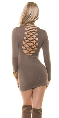 In-Stylefashion - Robe - Femme marron marron foncé taille unique marron foncé