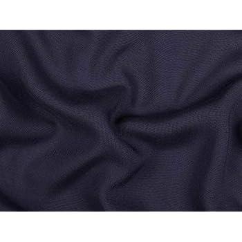schwarz uni Viskose Mousseline 142cm