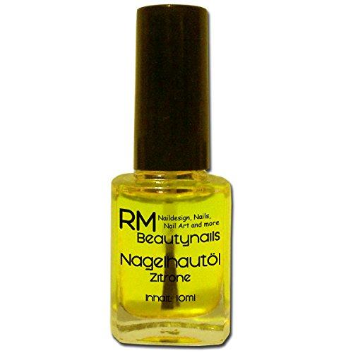 RM Beautynails Nagelöl Nagelhautpflegeöl Nagelhautöl Duft: Zitrone