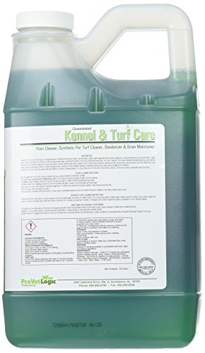 ProVetLogic Kennel Care, Floor Cleaner, Deodorizer and Drain Maintainer, Concentrated, 64 Ounces