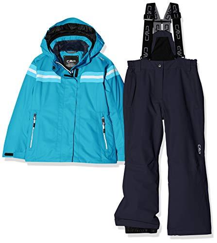 CMP 39w1995 - Conjunto de Chaqueta y pantalón de esquí para niña, Niñas, Color Curacao, tamaño 110