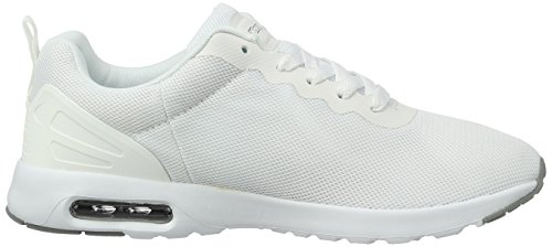 Kappa Classy, Sneakers Basses Femme Blanc (White/grey)