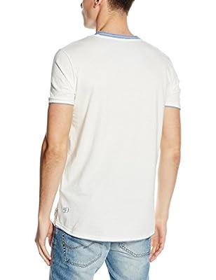 Tom Tailor Denim Men's 2in1 Slub Tee/603 Short Sleeve T-Shirt