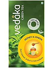 Vedaka Green Tea, Honey and Lemon Tea, 100 Tea Bags