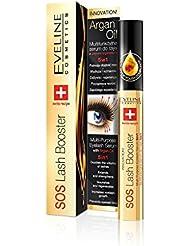 Eveline Cosmetics SOS Lash Booster - Wimpernserum 5 in 1 für längere, gepflegte Wimpern 10 ml