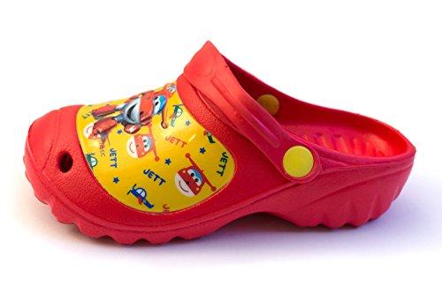 Super Wings , Sandales pour garçon Rouge