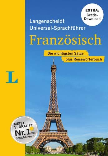 """Langenscheidt Universal-Sprachführer Französisch - Buch inklusive E-Book zum Thema """"Essen & Trinken"""": Die wichtigsten Sätze plus Reisewörterbuch"""