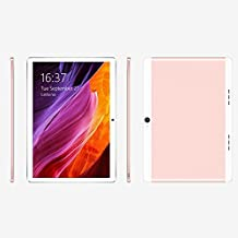 Cewaal 10.1 pulgadas 3G Wifi Tablet Octa Core, Android 6.0 2GB RAM + 32GB Memoria interna, Doble Cámara 1.9MP + 8MP, Dual SIM, Bluetooth WIFI, Google Play Store Youtube Netflix, IPS 1280x800, Oro Rosa