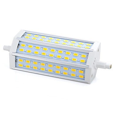 15W R7S LED Mais-Birnen 54 SMD 5730 1000-1200 lm Warmes Weiß Dimmbar AC 220-240 V 1 Stück , warm white