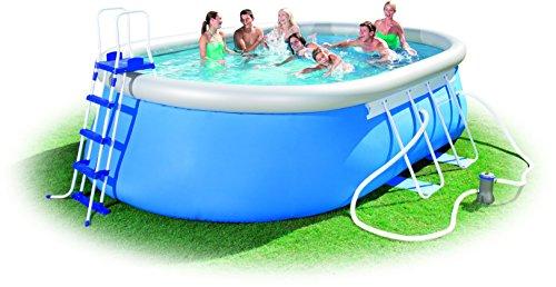 Bestway Steel Pro Oval Frame Pool Set 549x366x122 cm -