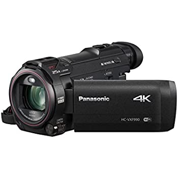 Panasonic HC-VXF990EBK 4K Camcorder with Wireless Multi Camera Function - Black