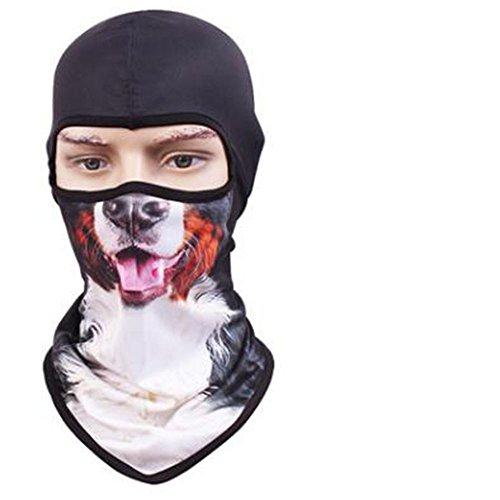 VFDMNSVDSFD Tier Maske trocken atmungsaktive Maske Persönlichkeit outdoor Sun cs Tier Maske Hut maskiert, Verkauf von Moe ()