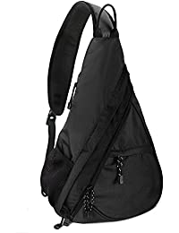Unigear Sling Bag Pack, Chest Shoulder Crossbody Hiking Backpack Sport Bicycle Rucksack Handbag School Daypack for Men Women Boy Girl Teenagers