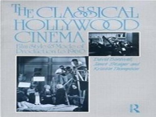 The Classical Hollywood Cinema New edition by Bordwell, David, Staiger, Janet, Thompson, Kristin (1998) Paperback