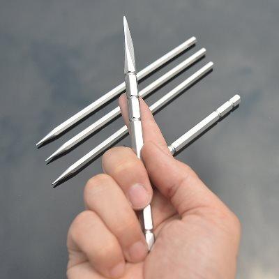 penixon Wurfmesser Set Drei Stück Werfen Messer-Set Fliegende Nadeln