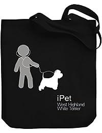 Teeburon I PET West Highland White Terrier Bolsa de Lona
