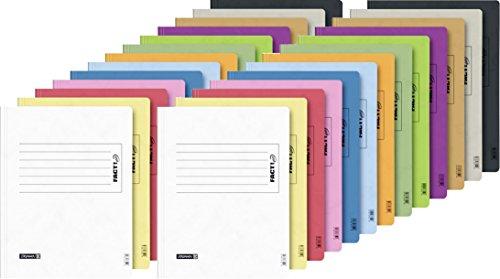 Brunnen Schnellhefter Papphefter 13 Farben extra stark 375g (26er MegaPack, Alle Farben)