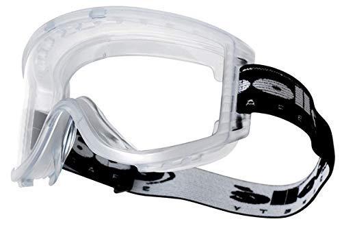 Bollé ATPSI Attack Schutzbrille, Einheitsgröße, transparent