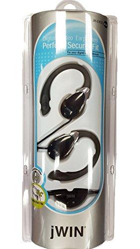 JWIN Auriculares Stereo Con Control de Volumen Negro Jwin Stereo-mp3-player