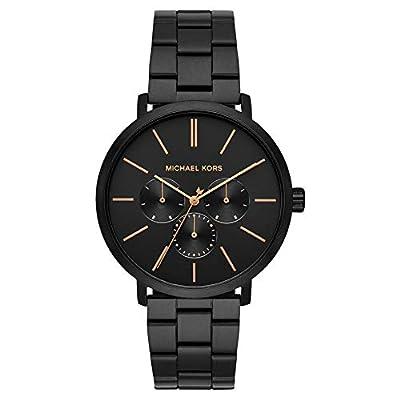 Michael Kors Reloj Analógico para Hombre de Cuarzo con Correa en Acero Inoxidable MK8703