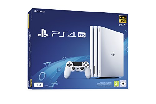 PS4 Pro 1 To G - Chassis White [Importación francesa]