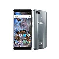 Casper Via M4 Akıllı Telefon, 32 GB, Gri (Casper Türkiye Garantili)