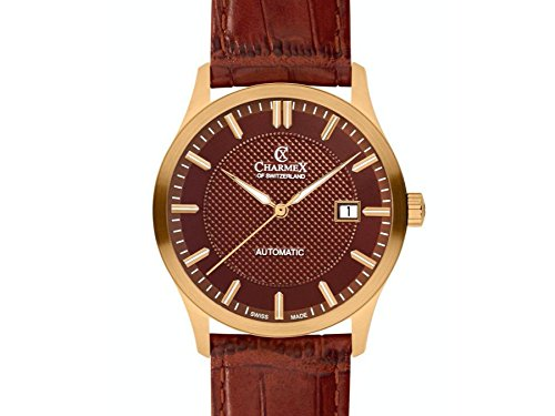 Charmex Tobacco Dial ; Brown Band