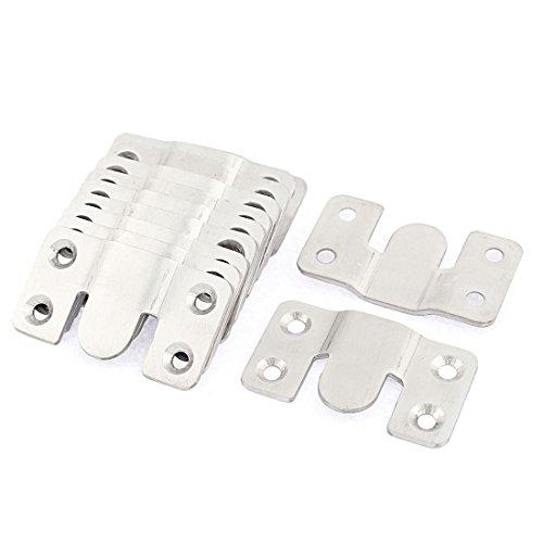 10 Stück Metall Bettbeschlag Bettverbinder Möbelverbinder Metallverbinder DE de