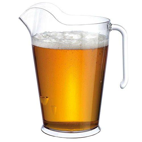 Urban Bar Fresco Krug Pitcher 4 Pint - Staplebar Plastikkrug - Kunststoff Bier Krug Bar Krug