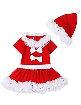 Ropa De La Muchacha Niños,RETUROM Vestido De Navidad De Los BebÉS Trajes De Navidad De Vestir De Manga Larga Para...