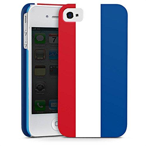 Apple iPhone X Silikon Hülle Case Schutzhülle Niederlande Holland Flagge Premium Case glänzend