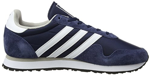 Adidas Haven, Baskets Basses Sport Unisexes Blau (collegiate Navy / Chaussures White / Clear Granite)