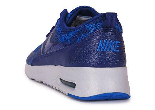 Nike Air Max Thea Jacquard, Sneaker Basse Donna Azzurro