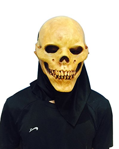 en Horror schädel Maske Scary Latex maske (Halloween Scary Horror Masken)