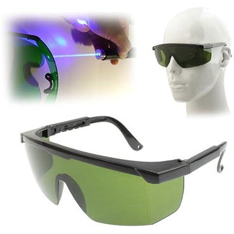 Occhiali Protettivi Di Sicurezza Laser (Lenti Verdi)