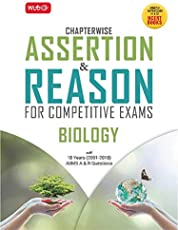 Assertion and Reason for Competitive Exams : Biology