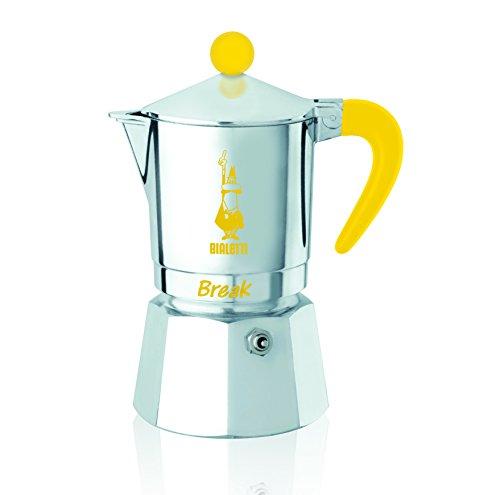 Bialetti 5922 Cafetière espresso Break 3 Tasses, Aluminium